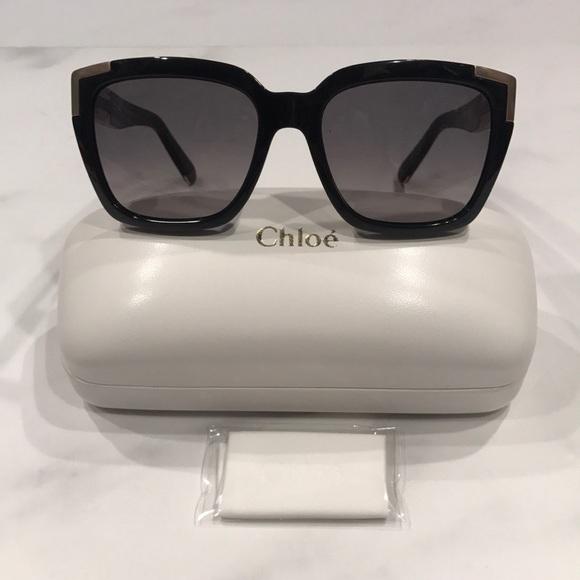 5e0b1fa0670 BNWT Authentic Chloe Sunglasses With Case   Cloth